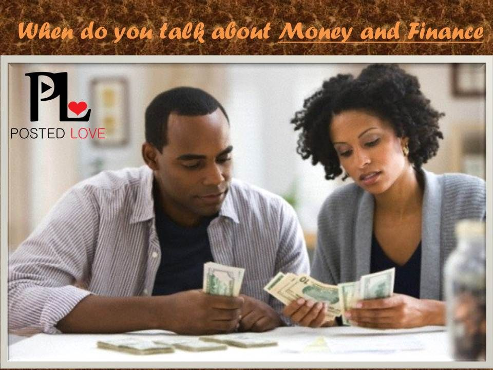 dating talking about money