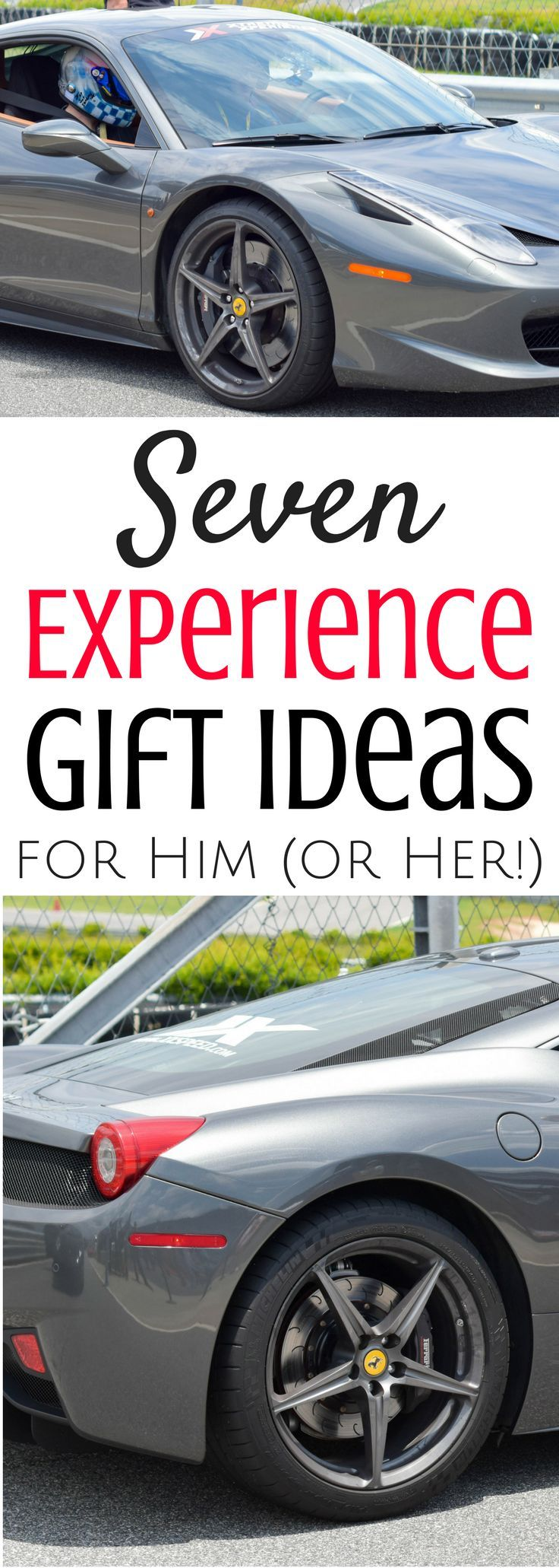 Seven Experience Gift Ideas For Him Or Her