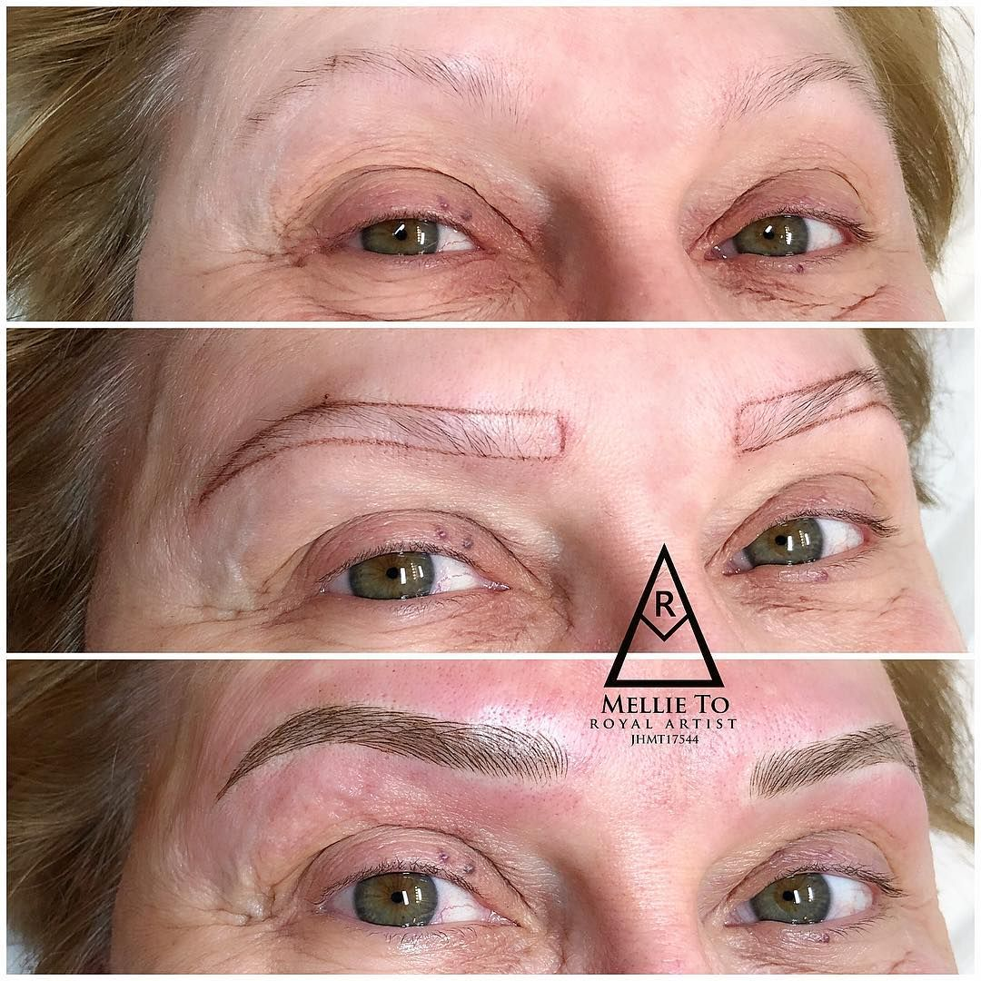 Pin by Paris Nails on 3D Microblading Eyebrows Eye