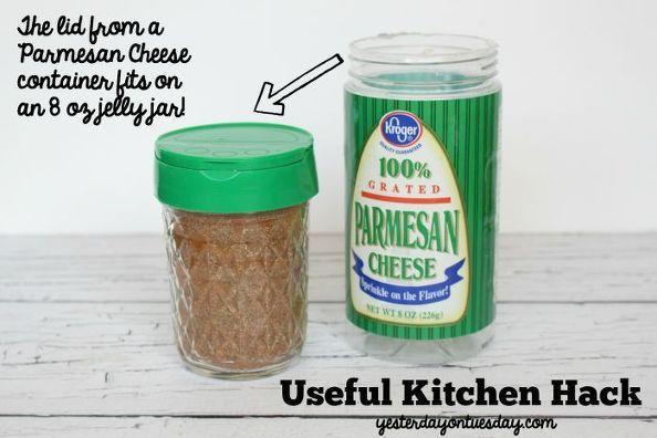 Amazing Mason Jar Lid Hack Mason Jar Lids Spice Blends Jar