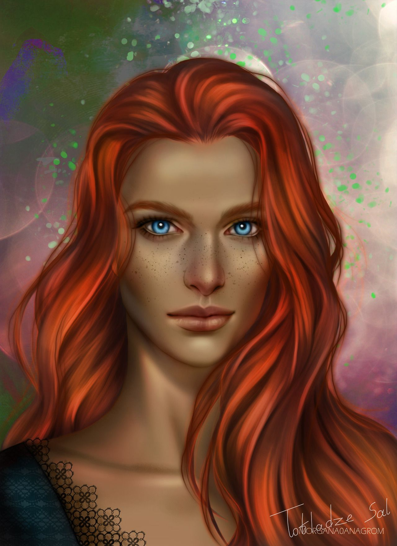 Vassa From A Court Of Thorns And Roses Finally Painted Her Hope