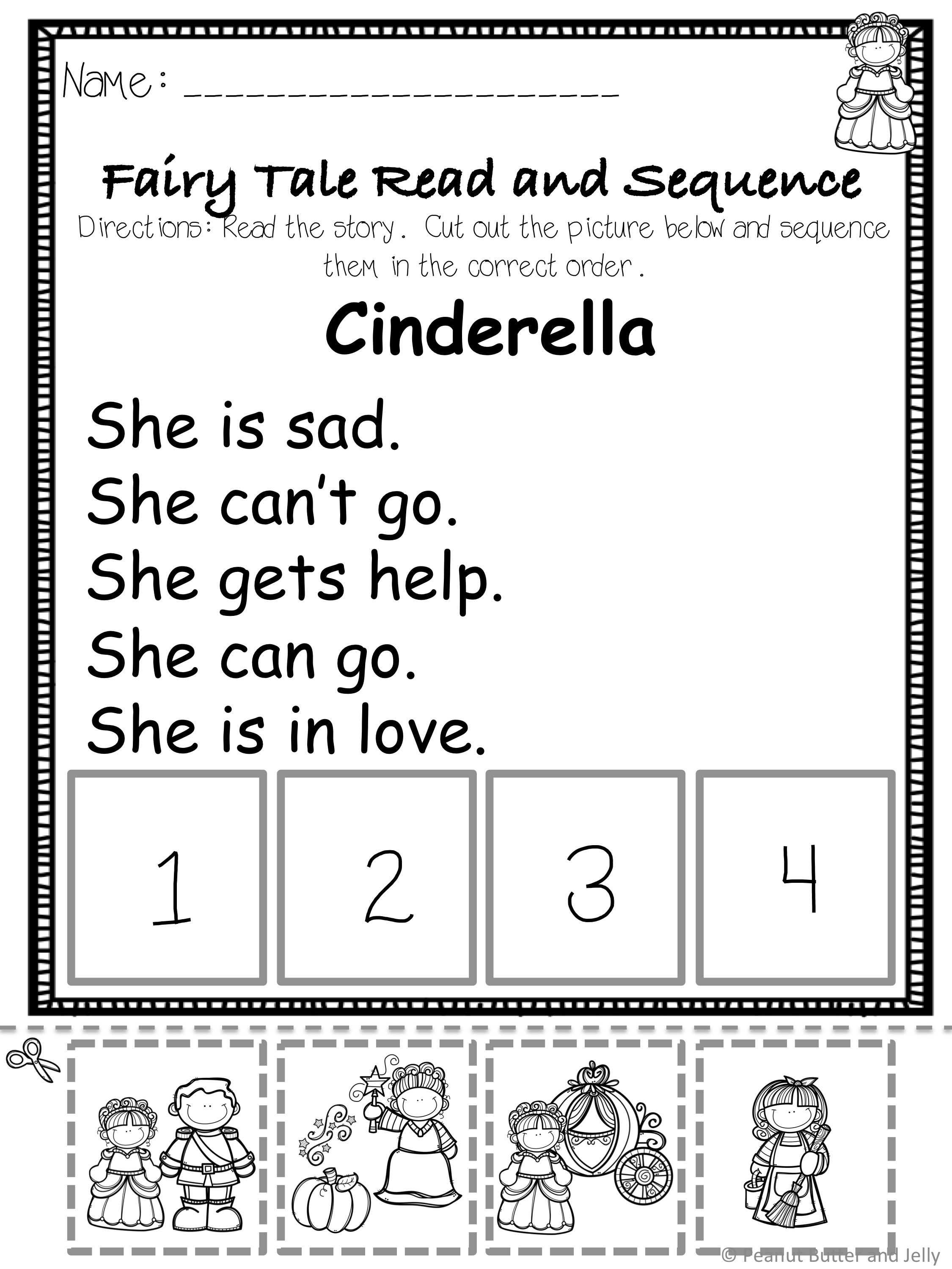 Fairy Tale Sequencing