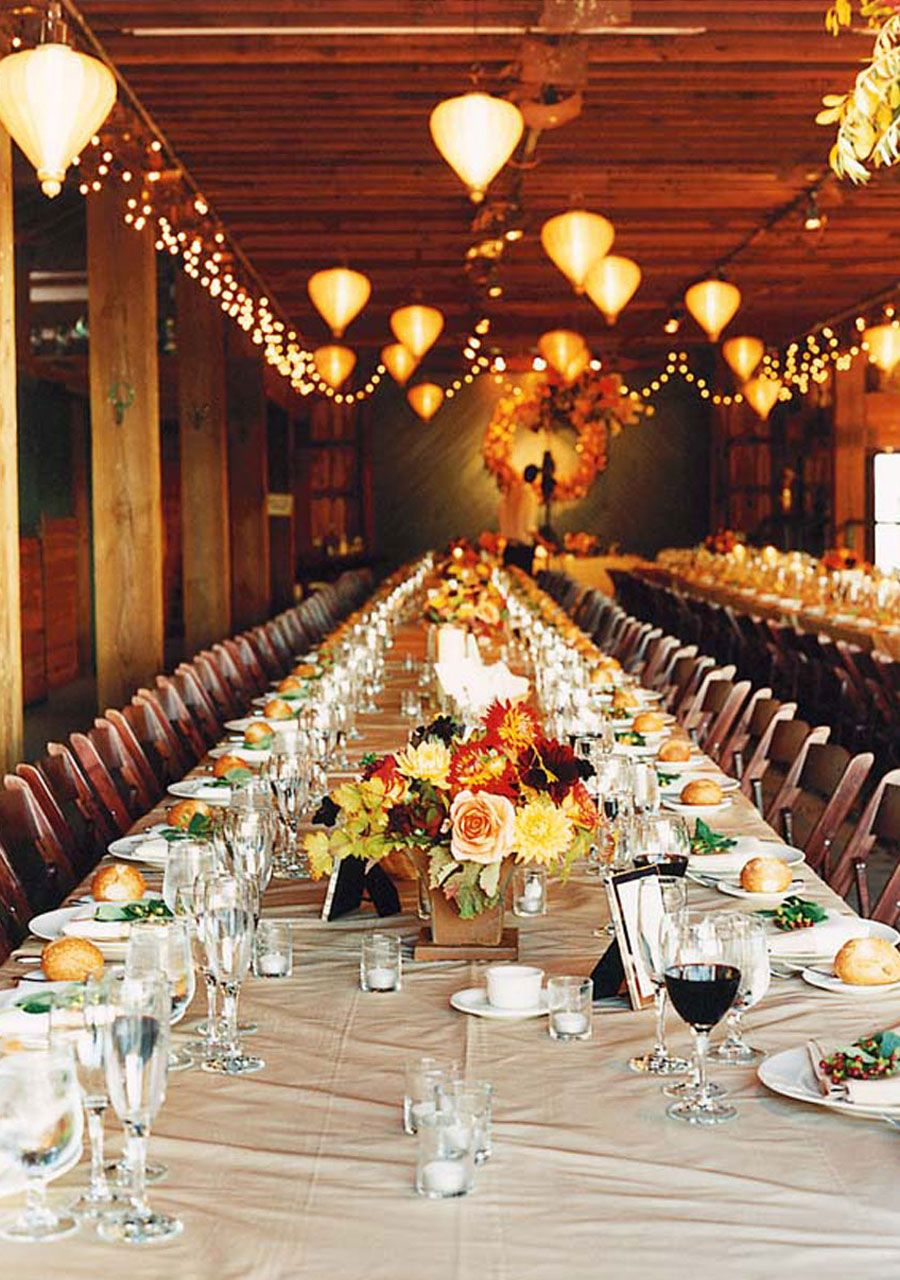 I love the idea of a long table like this. Reminds me of our big family dinners growing up. Rustic Charm Carrie \u0026 Neil In Glen Ellen CA & Kudos to Carrie and Neil from Glen Ellen CA and Photo Credit: Lisa ...