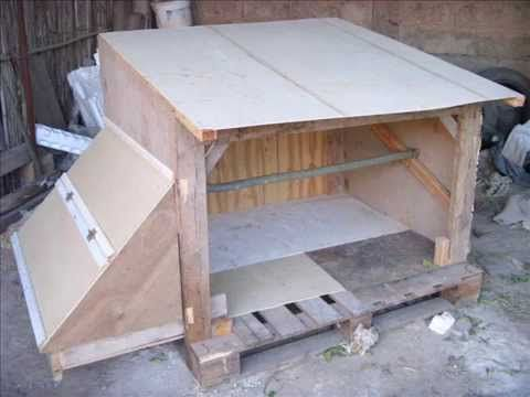 un poulailler pas cher youtube poulailler r cup poulailler fabriquer un poulailler et. Black Bedroom Furniture Sets. Home Design Ideas
