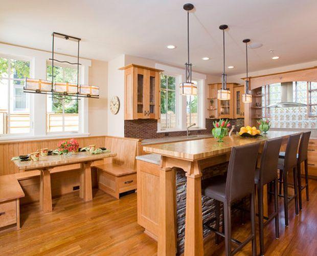 Kitchen Island Bar Nook Wood Tables
