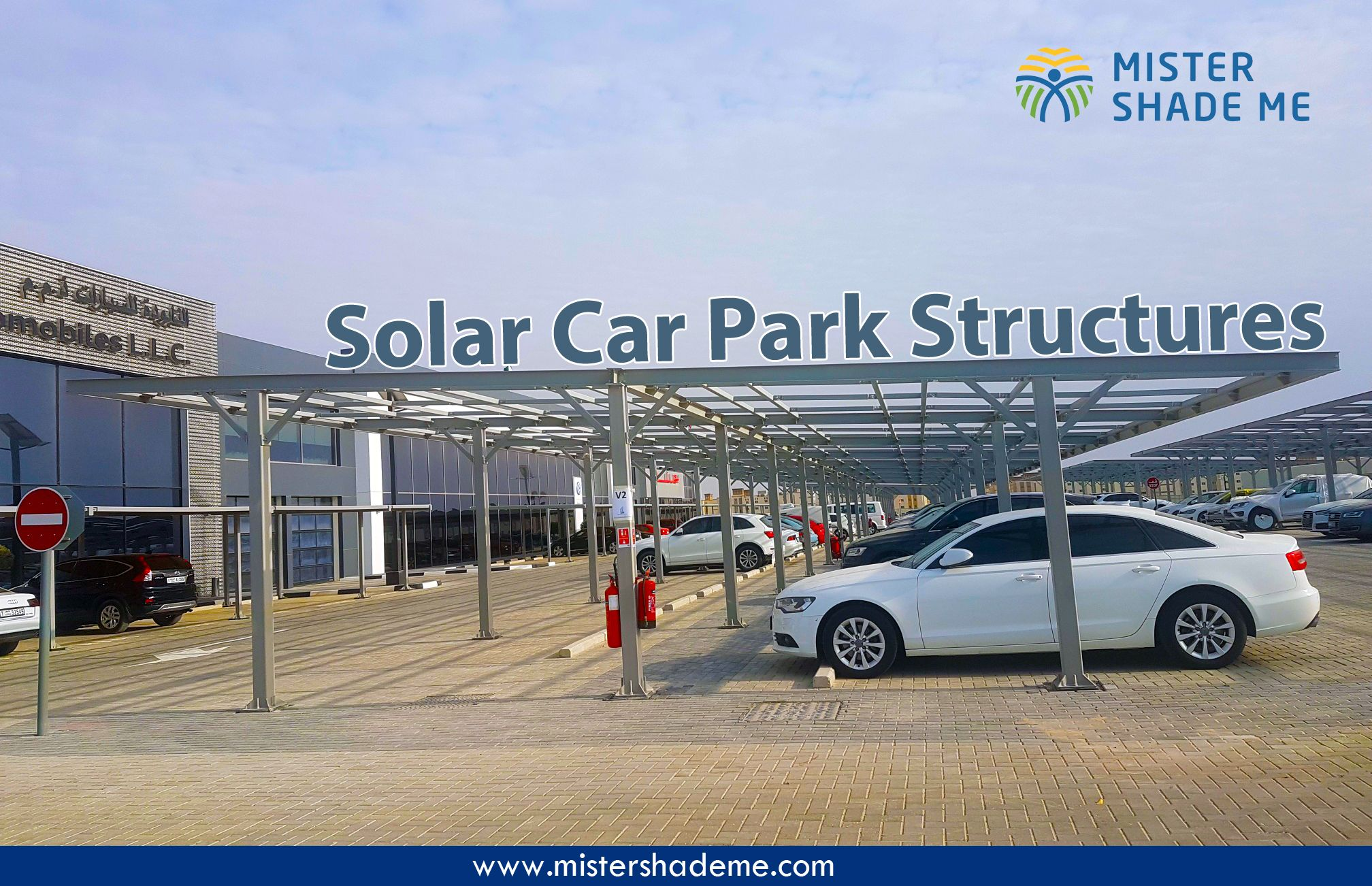 Solar Car Park Structures by Mister Shade ME🇦🇪️ For