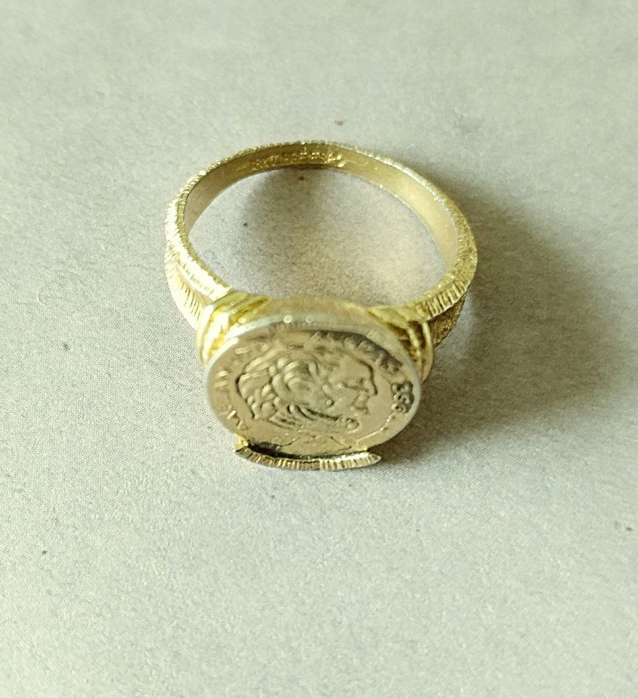 Alessandro Magno Ring Signed 18kt Hge Espo Rings Beautiful Jewelry Jewelry