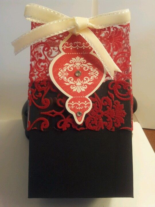 Candlelight Fancy Favor Box