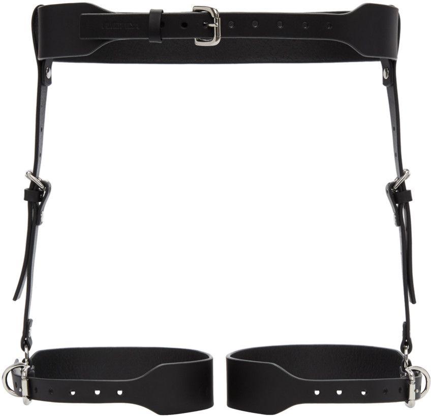 Black Suspender Garter Harness Belt Fleet Ilya wx6opP2Upl