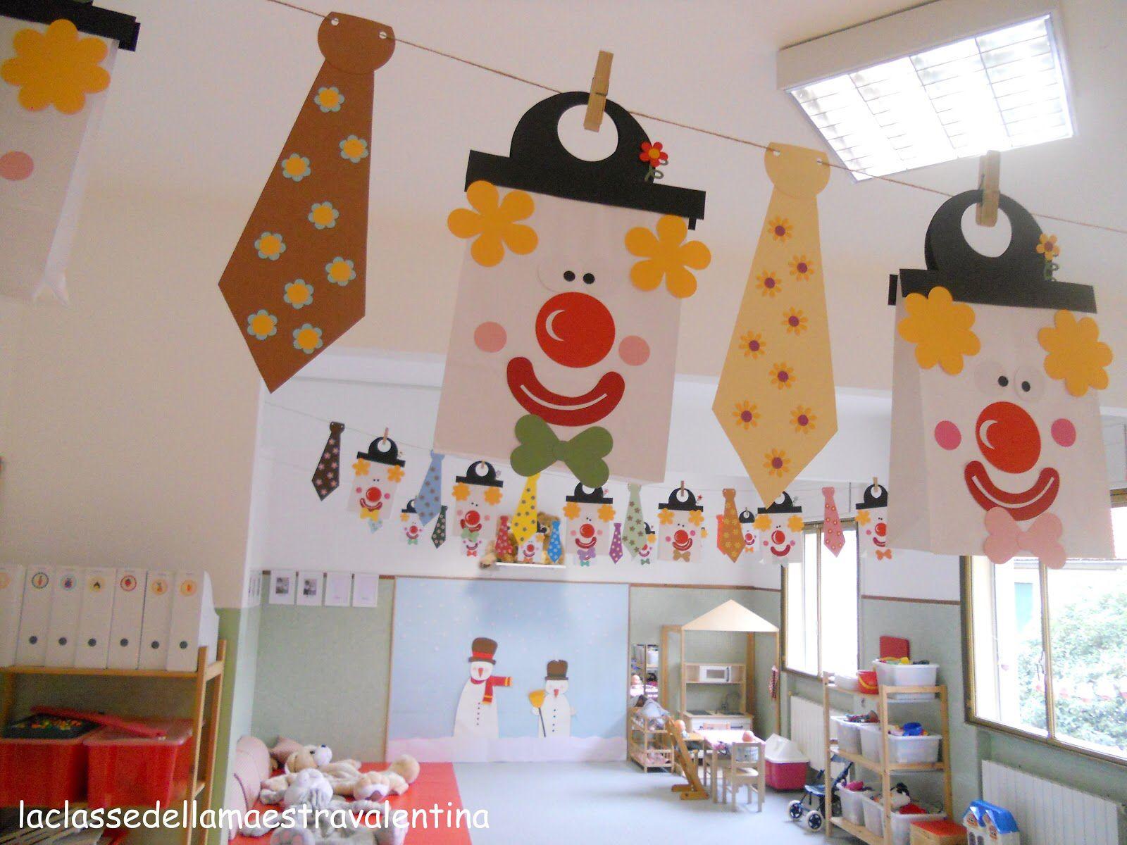 Carnevale addobbi di carnevale decorazioni carnevale for Idee per cartelloni scuola infanzia