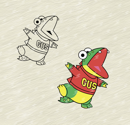 30+ Gus the gummy gator coloring page info