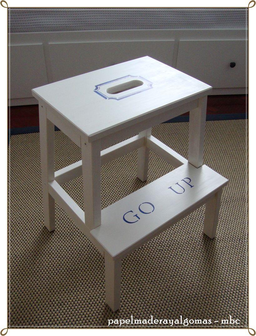 DIY Makeovers That Transform The IKEA Bekvam Step Stool ...