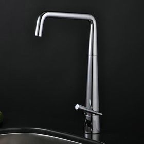 Stainless Steel Contemporary Adjustable Kitchen Tap Chrome Finish ...