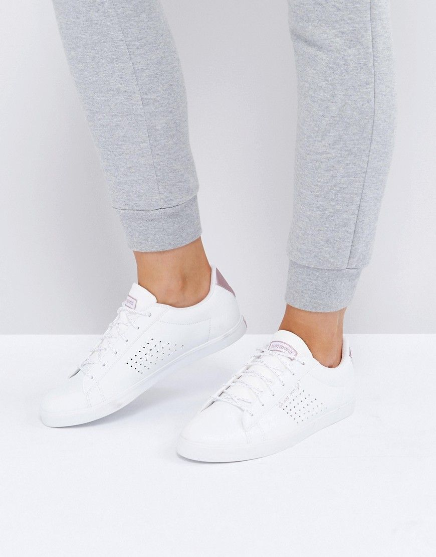 new arrival dc31b b7690 Le Coq Sportif White And Rose Gold Agate Lo Sneakers - White