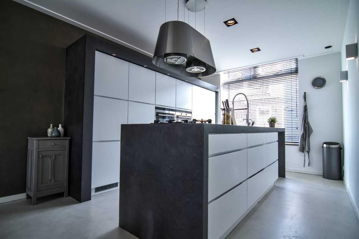 Top Design Keukens : Tendenza wall u floor design keuken floor design