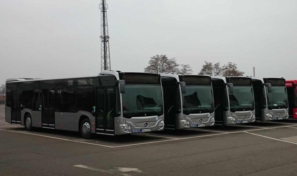 Weitere sechs neue Busse für die HAVAG | Bus Mercedes Benz Citaro 2