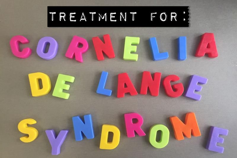 Treatment for Cornelia de Lange Syndrome