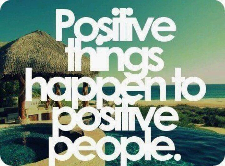 positive is important