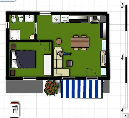 planos de casas 8 x 5