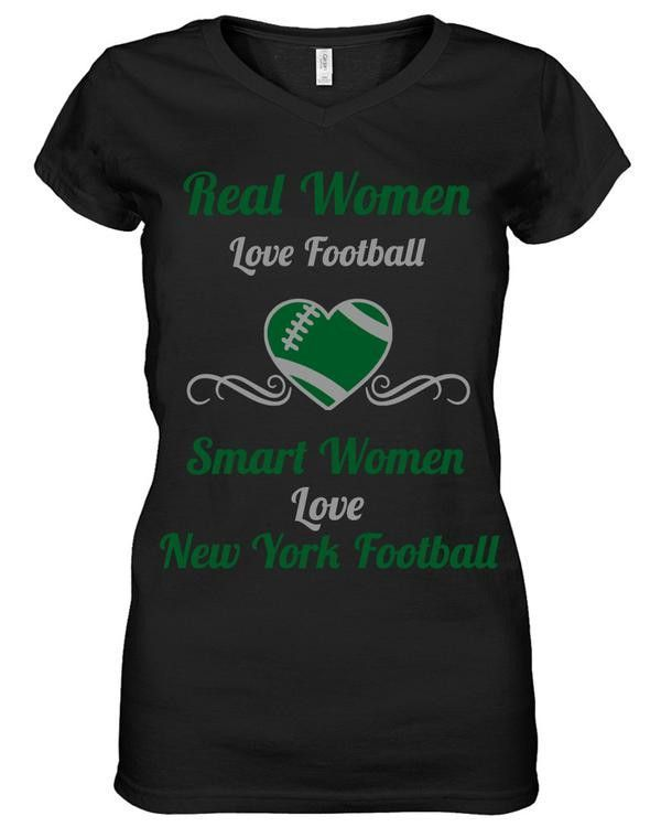 Smart Women Love New York Football Limited Edition Shirt