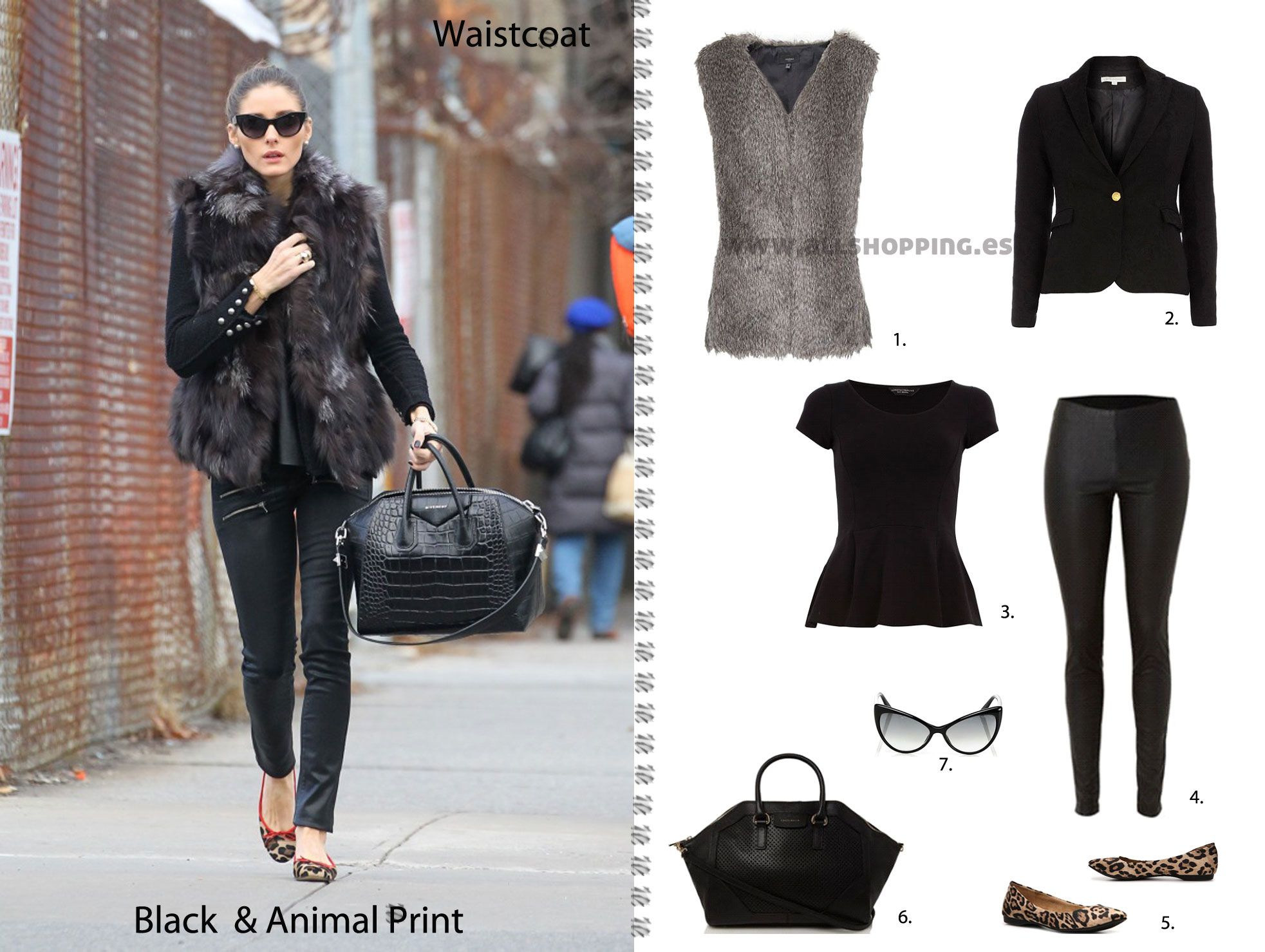 Casual & chic Look - Olivia Palermo