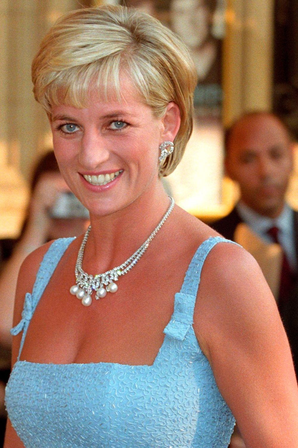 Princess Dianas Iconic Diamond And Pearl Necklace Is Up For