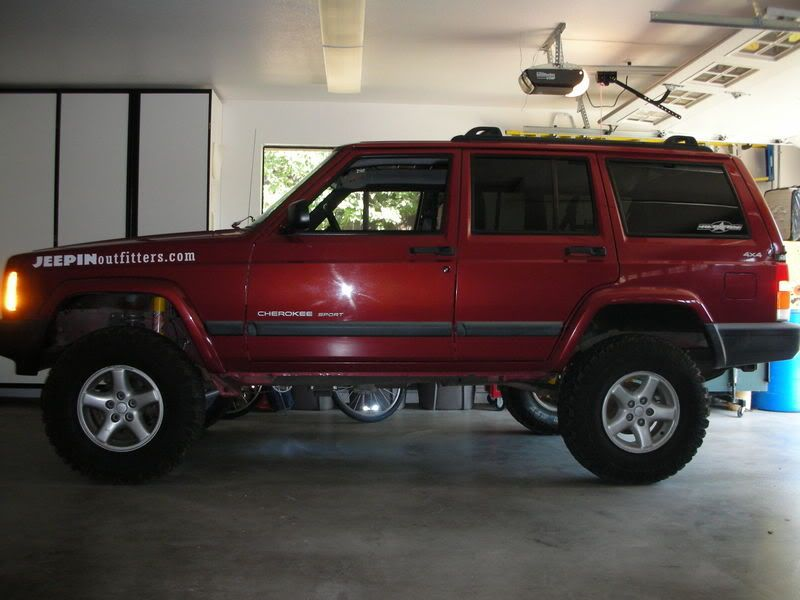 Re 3 5 And 31 S Xj Lift Tire Setup Thread Jeep Cherokee Forum