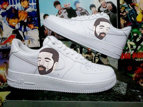 f275375bd21 Custom Nike Air Force one,drake,ovo,damn,custom sneakers , custom shoes , custom  nike ,custom kicks