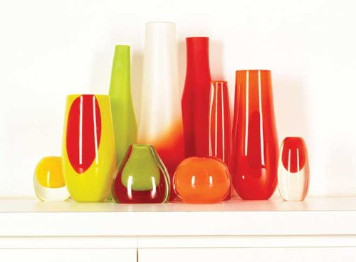 Glass Vases By Dinosaur Design The Style Files Idees Pinterest