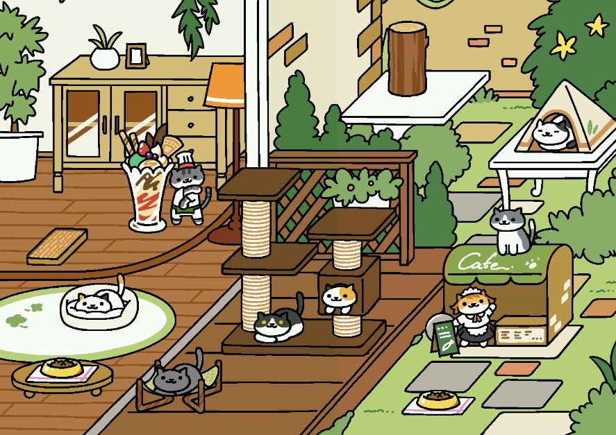 Neko Atsume Kitty