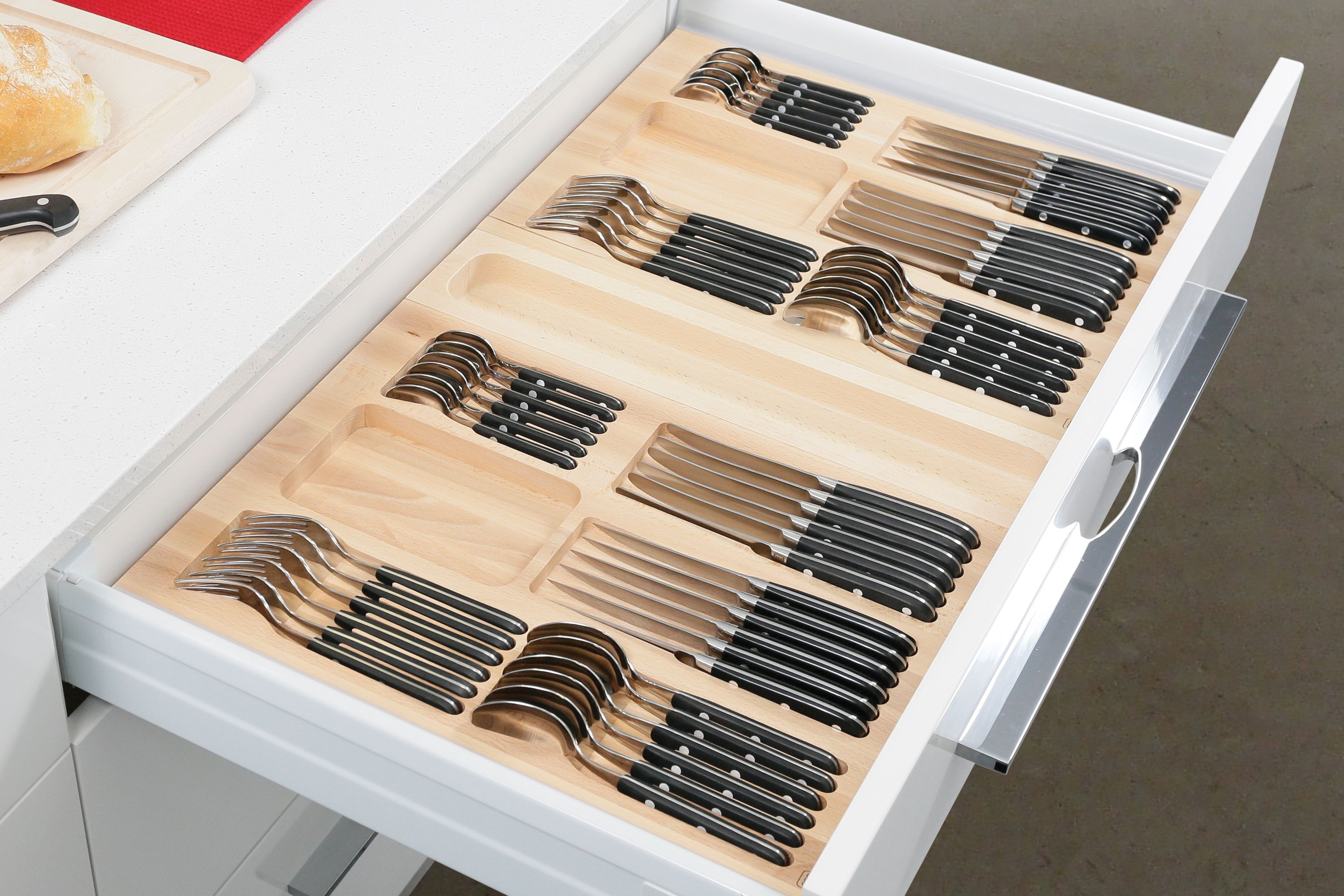Essetre Gourmet-Line 600mm Cutlery Set. http://www.essetre.com.au ...
