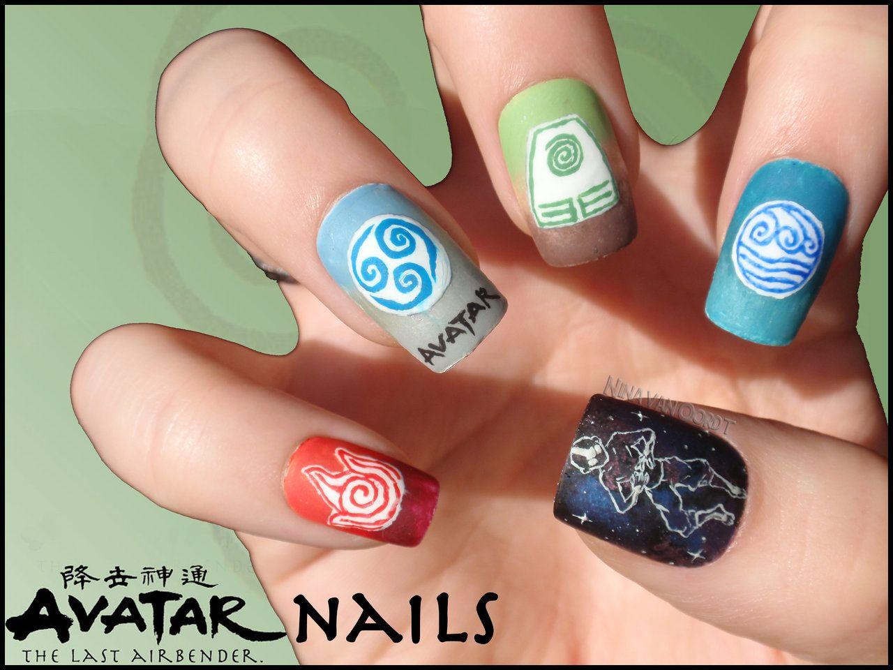Anime Nails on Geek-Nails - DeviantArt - The 25+ Best Anime Nails Ideas On Pinterest Sailor Moon Nails