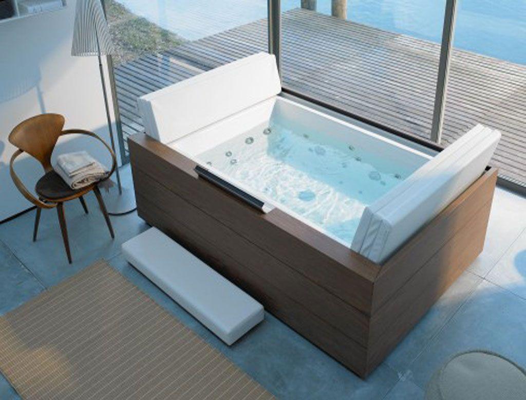 Vasca Da Bagno Enorme duravit sundeck vasca da interno/esterno | vasca da bagno