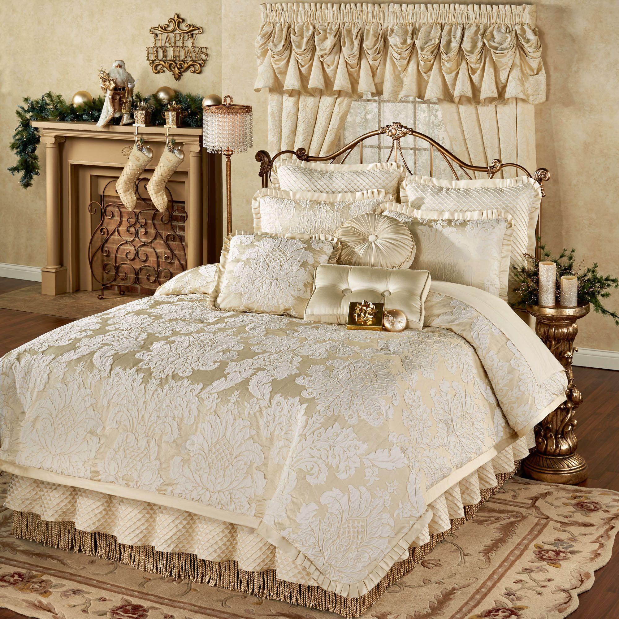 Classique damask comforter bedding comforter sets bed