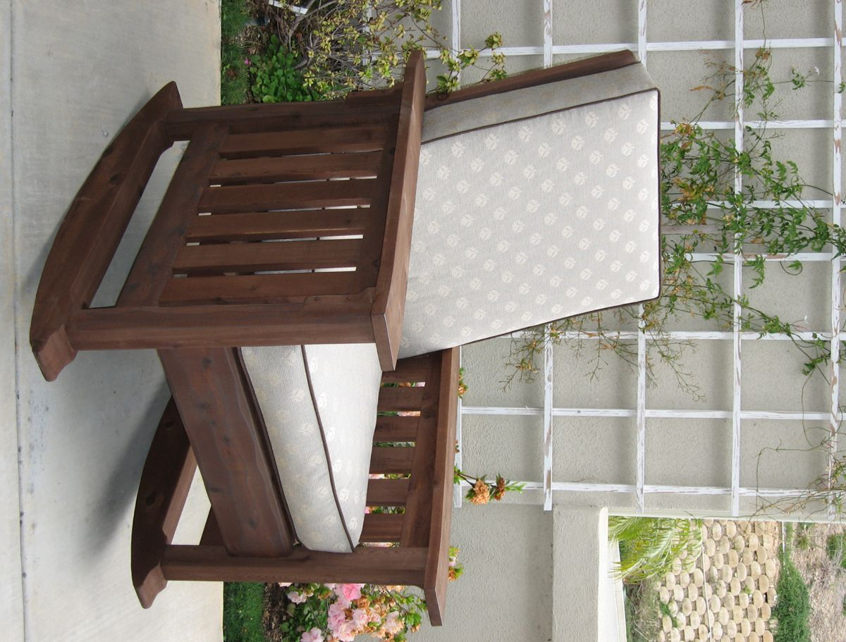 Washoe Rocking Chair An Outdoor Rocker In The Craftsman