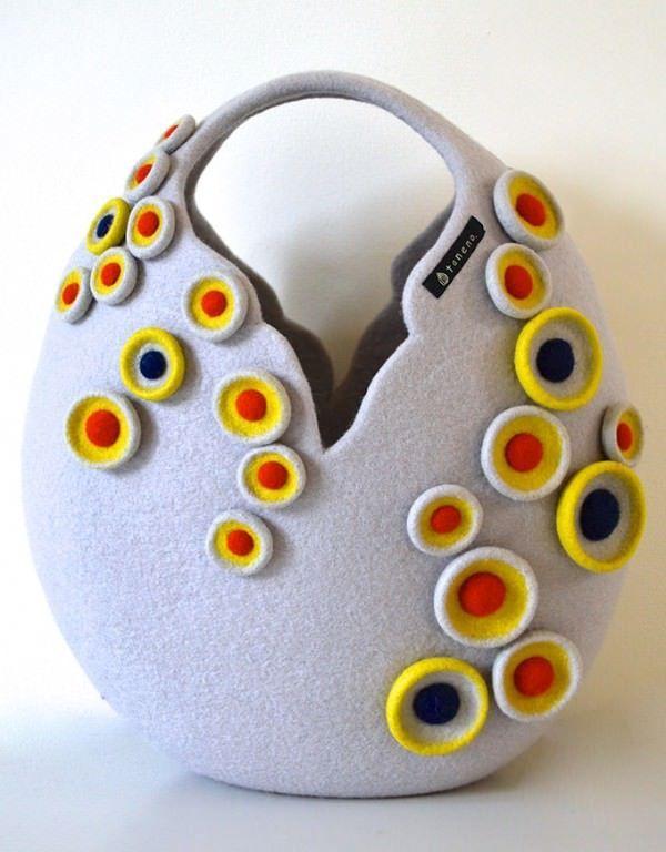 Amazing Felt Creations by Atsuko Sasaki | Gift Ideas | Creative Spotting #feltcreations Amazing Felt Creations by Atsuko Sasaki Design Fashion + Trends #feltcreations