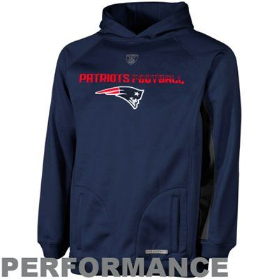 the best attitude 3fb4c 76884 New England Patriots Youth Endurance Performance Hoodie ...