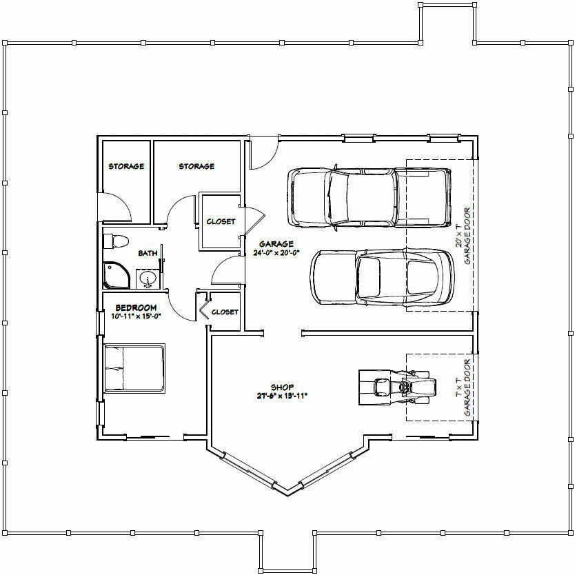 40x32 House 5 Bedroom 4 Bath 2 932 Sqft Pdf Floor Plan Model 1 29 99 Picclick Garage Floor Plans Floor Plans Garage Plans