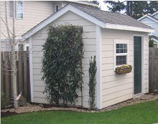 attractive designer style sheds at affordable prices oregon
