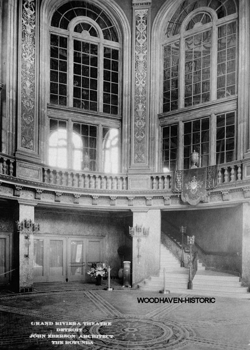 Grand riviera theatre theater detroit mi 1925 photo