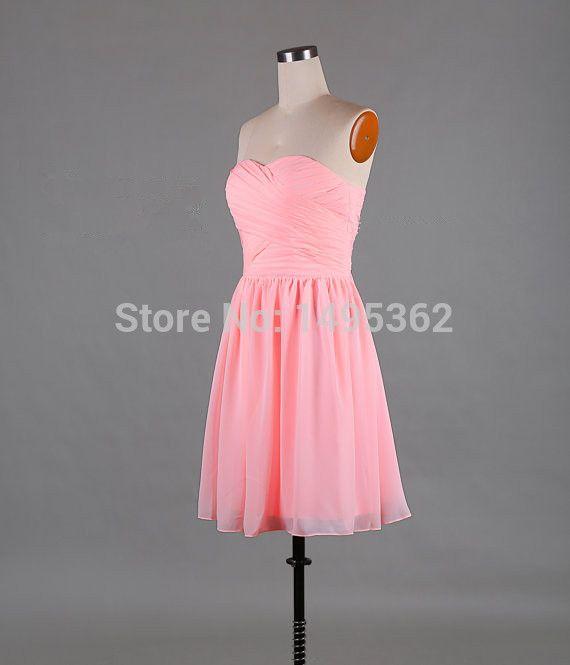 Wedding Gowns For Hourglass Figures: Aliexpress.com : Buy Light Pink Sweetheart Short