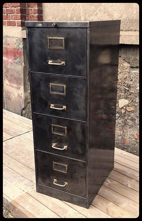 meuble industriel marque ron o 4 tiroirs dossiers suspendus et dossiers suspendus ron o d. Black Bedroom Furniture Sets. Home Design Ideas