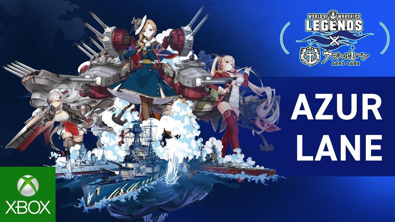 Azur Lane x World of Warships Legends Trailer in 2020