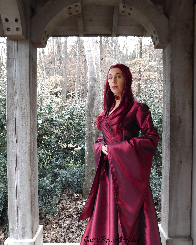 Handmade Melisandre Cosplay Dress Costume by
