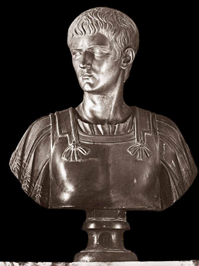Caligula, the son of Germanicus. 1st century CE. Rome, Capitoline Museums