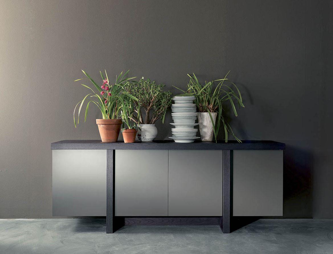 Sleek Gray Buffet Design For The Modern Living Room Www