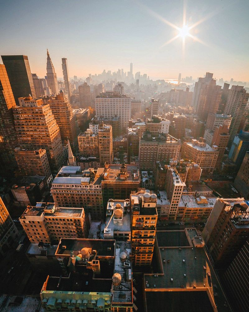Places you get see with a little help from your... - New York: The City That Never Sleeps
