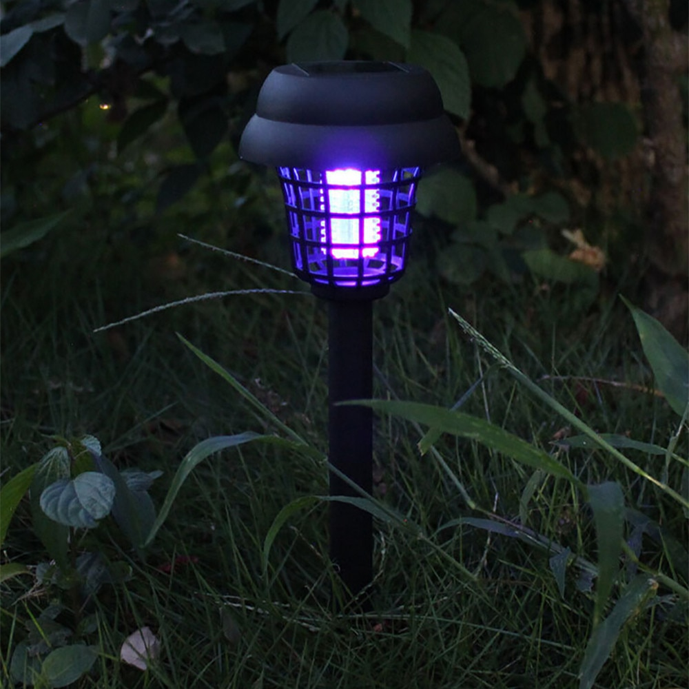 Solar Bug Zapper Lamp Keeps Bugs Away From You In 2020 Solar Powered Led Lights Bug Zapper Led Lights
