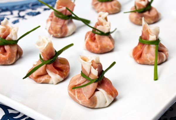 Prosciutto Pockets- These bite-sized snacks are perfect for any party or just to snack on. The great olive filling combined with the salty prosciutto wrapping makes the perfect blast of flavor in one bite.