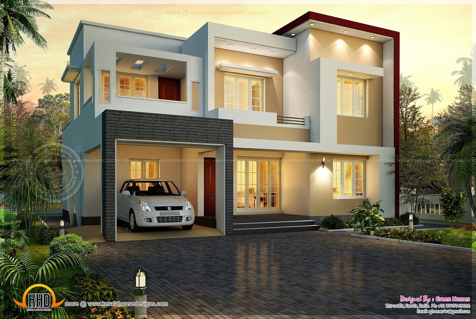 Flat Roof Homes